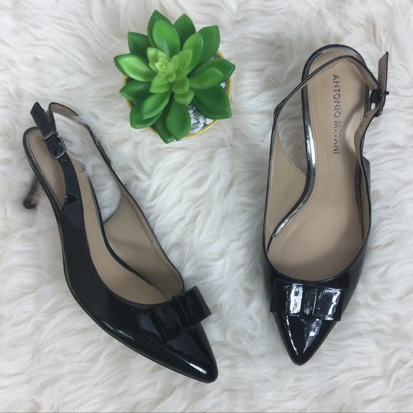 7dfdfa37aa6 ANTONIO MELANI Shoes - Antonio Melani Sz 8 Black Sling Back Heels